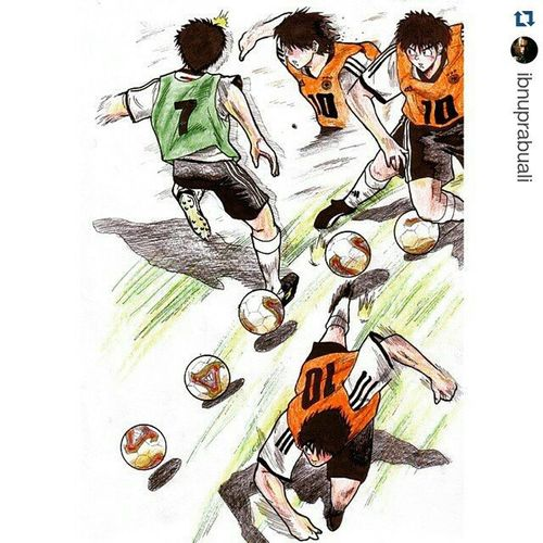 Repost @ibnuprabuali with @repostapp ・・・ Art Illustration Drawing Draw Picture Photography Artist Sketch Sketchbook Paper Pen Pencil Artsy Instaart Gallery Masterpiece Creative Instaartist Graphic Graphics Artoftheday Fantasista Teppei Teppeisakamoto anime manga dribble football comic