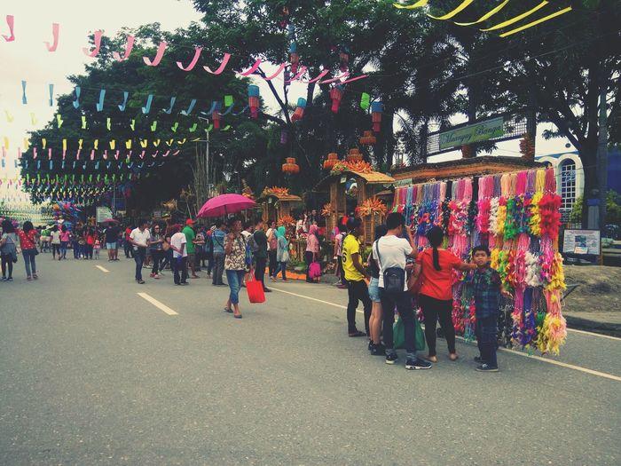 Eyeemphotography ASIA Asian  Street Photography Streetphotography Street Festival T'nalak Festival 2018 T'nalak Festival Philippines Crowd City Men Women Tree Multi Colored Celebration Sky The Street Photographer - 2018 EyeEm Awards