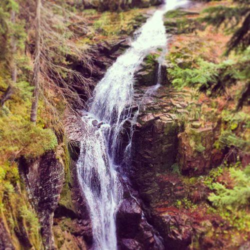 Autumn Jesień Wodospad Waterfall
