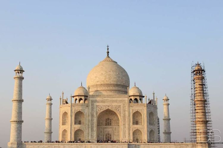 Taj mahal Cultures Architecture Travel Destinations Clear Sky Outdoors