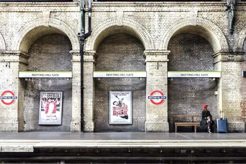 Waiting for the train Train Station Trainphotography Station Platform Station Train London London Underground Underground underwater photography Peaple Peaple Photography Built Structure Building Exterior Outdoors Adult
