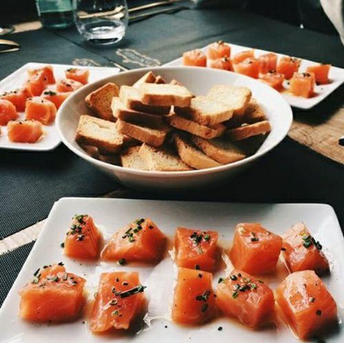 What's For Dinner? Tapas Salmon Like Goodfood Buena Vida