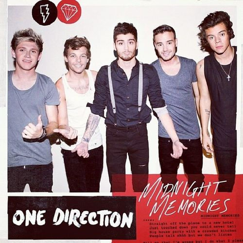 Onedirection Midnightmemories Ep Outnow extendedplay cover instamusic instapic love favband Louis harry zayn Liam Niall