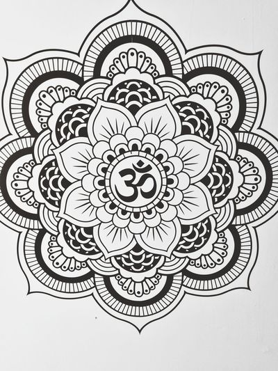 No People Mobilephotography HuaweiP9Photography HuaweiP9 Wall Decoration Wall Art, Drawing, Creativity EyEmNewHere Mandala Yoga Yoga ॐ Relaxing Place