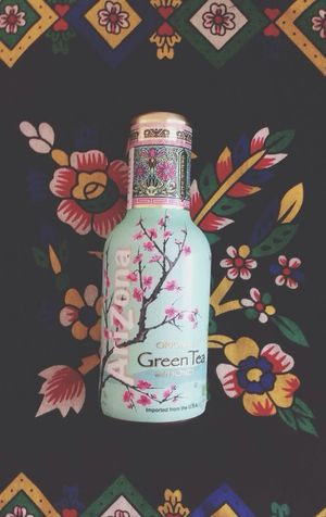 Hanging Out Check This Out Arizona Green Tea