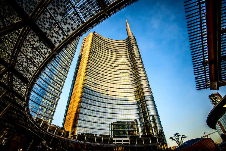 Unicredit Tower Piazza Gae Aulenti Milan Italy Milan Milan,Italy Architecture Building Exterior Built Structure Milan Italy EyeEm Gallery Milano The Week On EyeEm Skyscrapers Milano Italy Archilovers Skyscraper Milan EyeEm Selects Porta Garibaldi EyeEm Best Shots EyeEm The Best Shots City Low Angle View Modern Skyscraper Travel Destinations