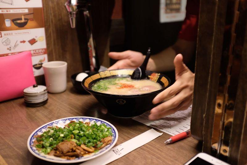 Ichiran ramen Noodles Ichiran Ramen Asian Food Restaurant Table Lifestyles Japanese Food