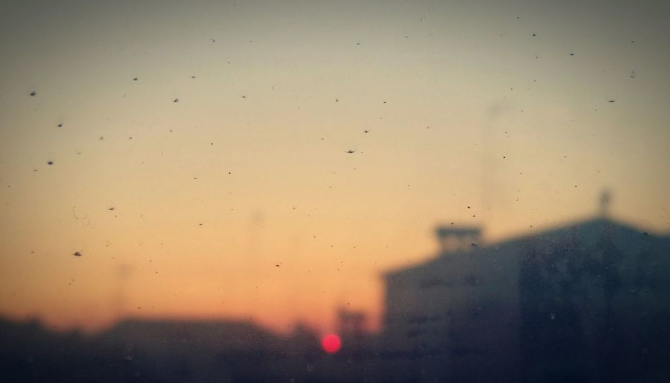 Sunset No People Sky City Outdoors Cityscape Day Window View Windows Window Frame