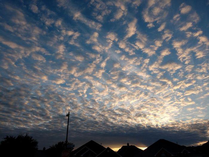 getting darker Sunset Silhouette Sky Cloud - Sky Dramatic Sky Atmospheric Mood Streaming