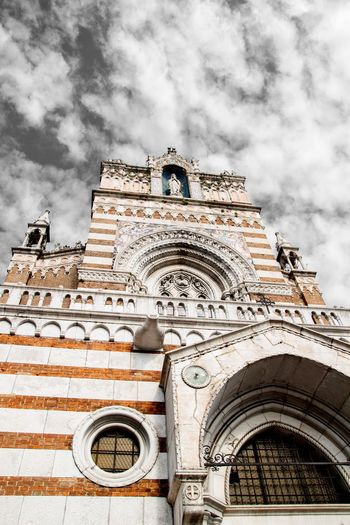 Church Architecture Church Cloud - Sky Built Structure Sky Building Exterior Architecture Low Angle View Building Day Religion No People History