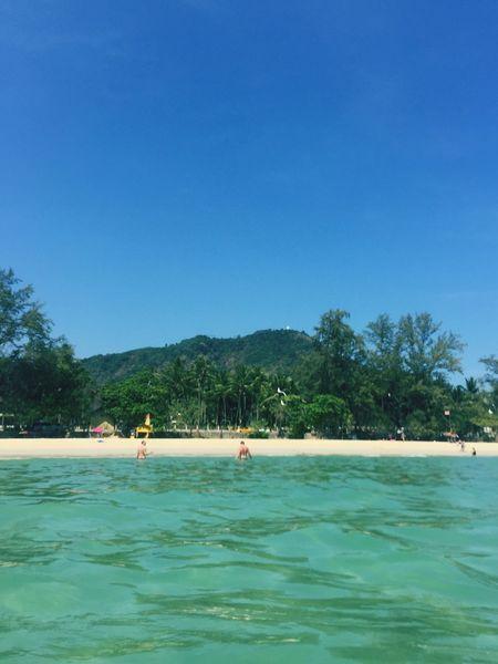 Green on Blue Traveling The World Thailandtravel Enjoying Life Beach