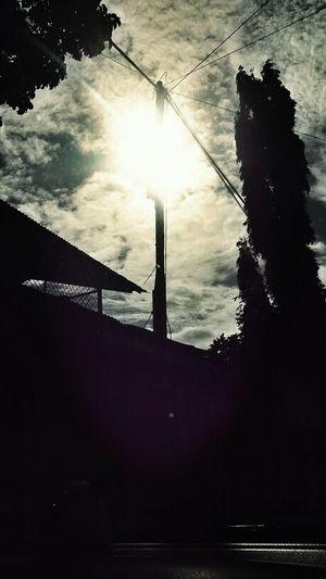 Shilouette Sun INDONESIA Limboto