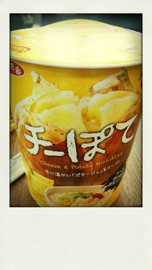 ちーぽて カップ麺