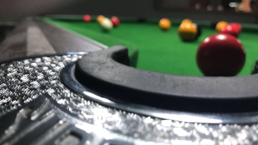 Sport Ball Table Pool Ball Pool Table Close-up Selective Focus Indoors  Leisure Activity Pool - Cue Sport Arts Culture And Entertainment No People Green Color Still Life Leisure Games Sports Equipment Black Color Playing Relaxation Snooker