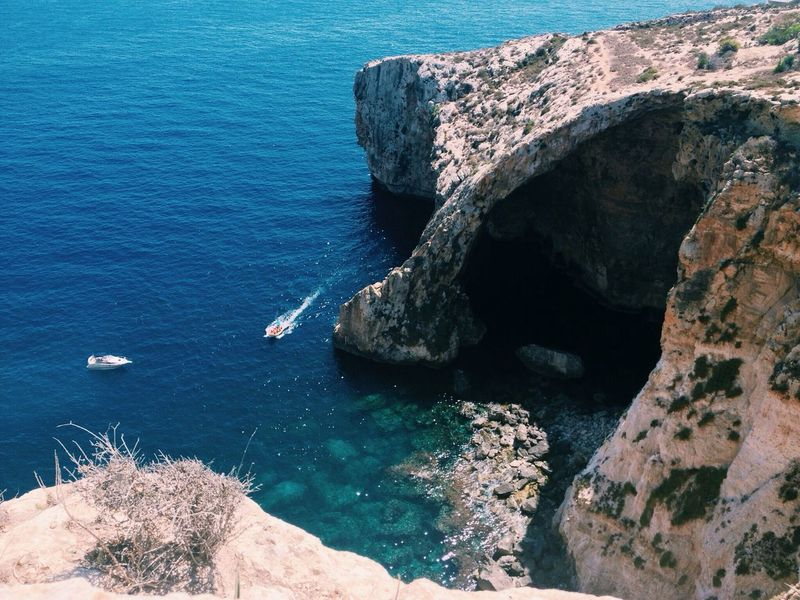 I miss beautiful Malta // Malta Blue Grotto Traveling Europe find me @ http://ow.ly/3ipqE3