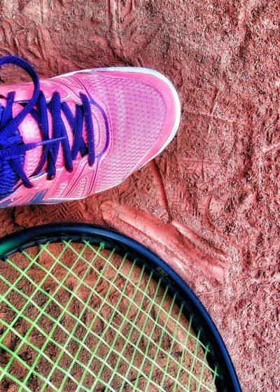 Sport Tennis Shoe Camp Tennis Court Tennis Colors Colours Of Life Showcase August Close Up Playing Tennis Raquette Racchetta