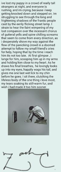 Sad Words Nightmare about a True Story