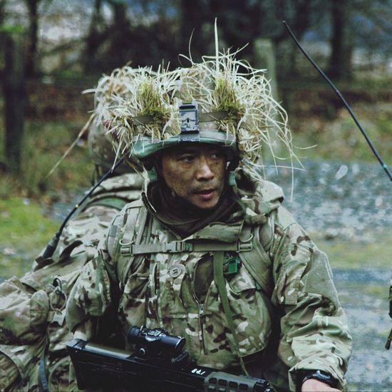 Gurkha Brecon Britisharmy Knackered