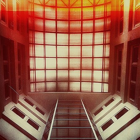 Stavropol Instastav 3GS Architecture Deep Upstairs Russia Building 26 Red Film Symmetry