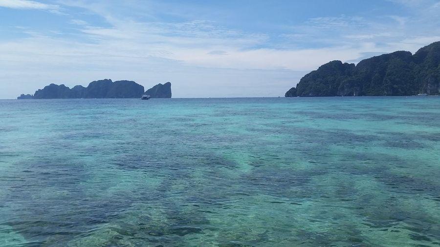 Phi Phi Island Ko Phi Phi Lee Krabi PP Island PP Isl Phuket Beauty In Nature Clear Water Ko Phi Phi Don No People On The Boat Outdoors Sea Sky