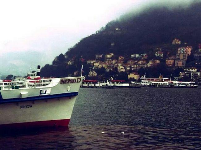 Landscape Lake Boat