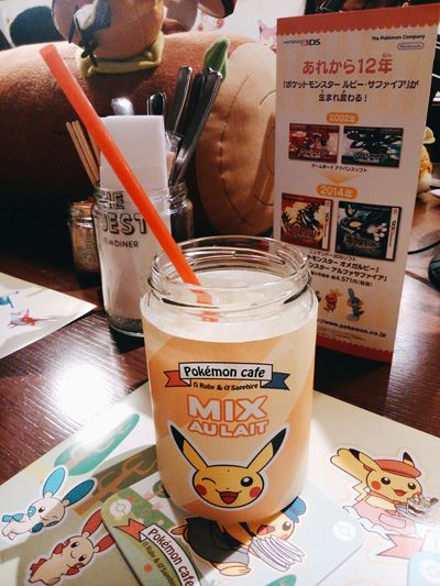The day we went to Pokemon Cafe Japan Pokemoncaffe Pokémon Pikachu Cute Check This Out Japan Photography