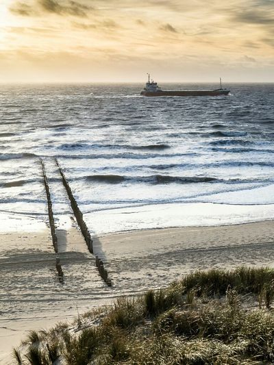 Meer Ocean Waves Life Is A Beach Beach Photography Holland How's The Weather Today? Landscape Seascape