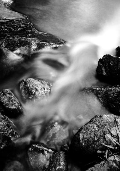 water flow Beauty In Nature Close-up Day Flowing Flowing Water Land Long Exposure Motion Nature No People Outdoors Rock Rock - Object Scenics - Nature Sea Selective Focus Solid Sport Tranquility Water