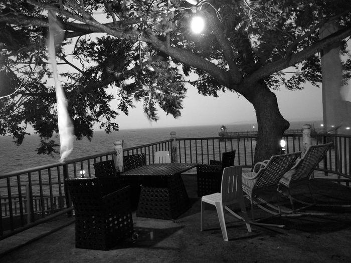 Unwind Black And White Vacation Horizon Over Water P9photography Cebu,Philippine