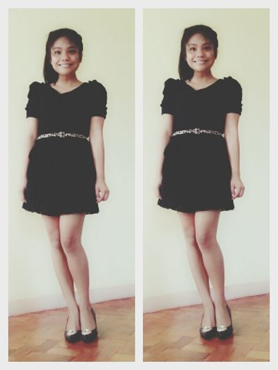 Ootd Littleblackdress Morning Smile Filipina
