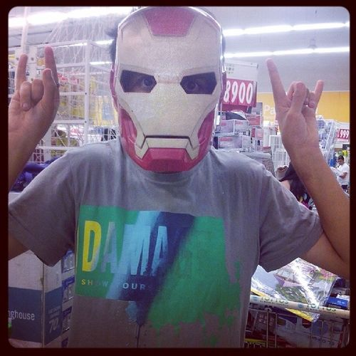 Yo siendo IronMan Instamoment Picoftheday Instaphoto Instayo ironman marvel ociomaximo