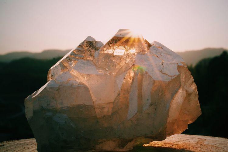 Crystal Crystals Quartz Sun Light Spiritual Magic Kristal Shine Healing EyeEm Nature Lover