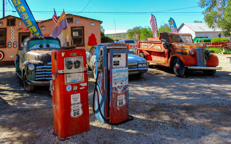 Route 66 Transportation Mode Of Transportation Land Vehicle Motor Vehicle Day Red Road City Sunlight Car Street