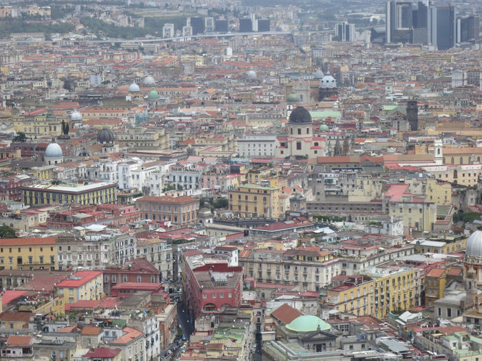 view on Napoli, townscape Architecture Building Exterior Built Structure City Residential District Building Cityscape Crowded Roof High Angle View Community Day House Town Outdoors City Life TOWNSCAPE Urban Sprawl