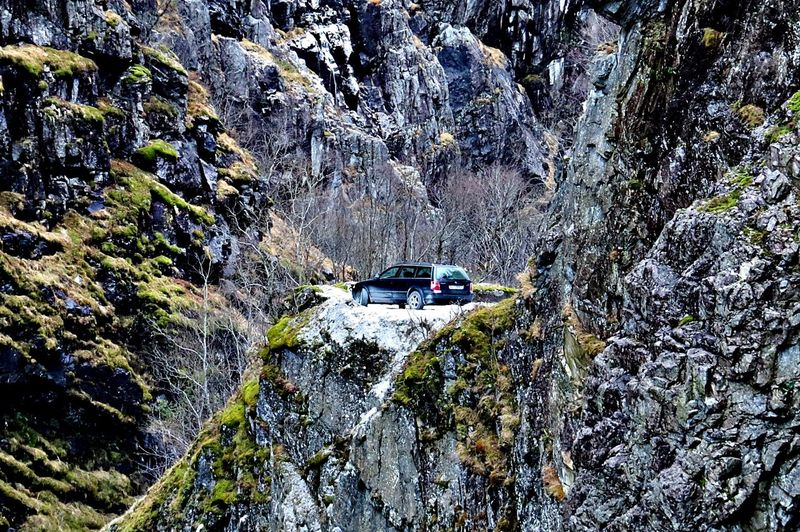 Adventure Beauty In Nature Car Day Exploration Fall Beauty Hikingadventures In The Mountains Jordal Jordalen Land Vehicle Mode Of Transport Mountain Nature No People Outdoors Roadtrip Rock - Object Transportation Travel Travel TripAdvisor Water Western Norway
