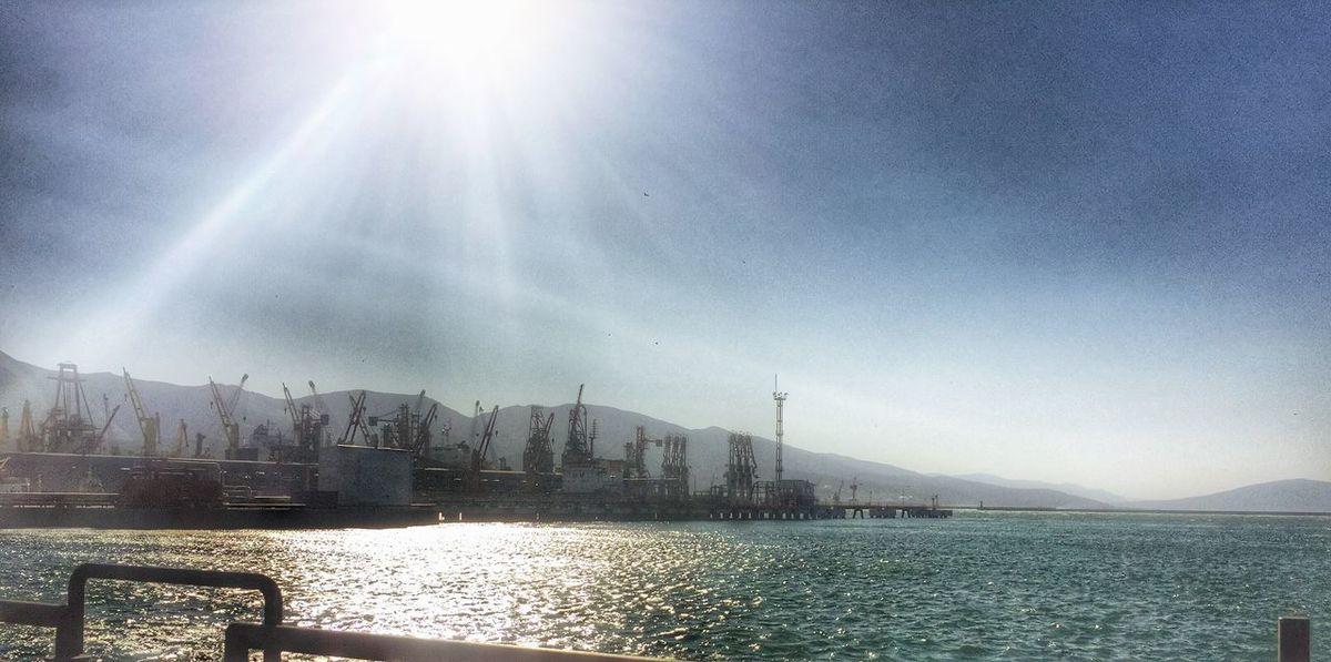 порт нмтп Море Черное море работа красота