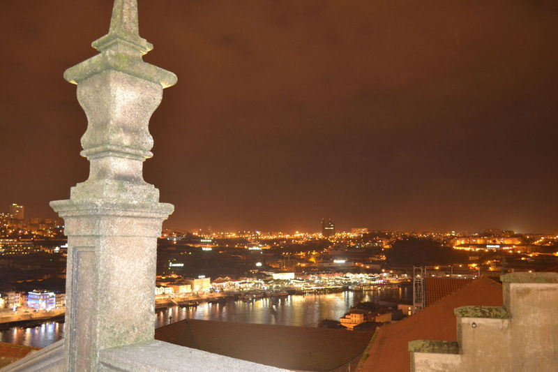 EyeEm Selects Night Illuminated Cityscape History Sky Outdoors Portugaligers Portugal_lovers Feelingood Porto Portugal 🇵🇹 Portugal Oficial Fotos Colection EyeEm© Built Structure No People Taking Photos Hanging Out Myview❤ Nofilter Portugal_em_fotos Lights In The Dark Monumental Buildings Monuments Of The World Portugaldenorteaosul