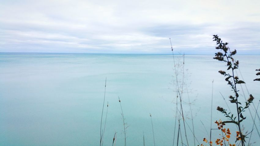 EyeEm Selects Landscape Cloud - Sky Water Tranquil Scene Tranquility Scenics Outdoors Beauty In Nature Horizon Over Water Reflection Day Nature Blue Autumn Lake View Lake Lake Michigan