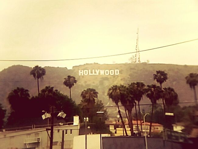 Vintage Hollywood Hollywoodsign Hollywood Losangeles Vintage Photo Telephoto