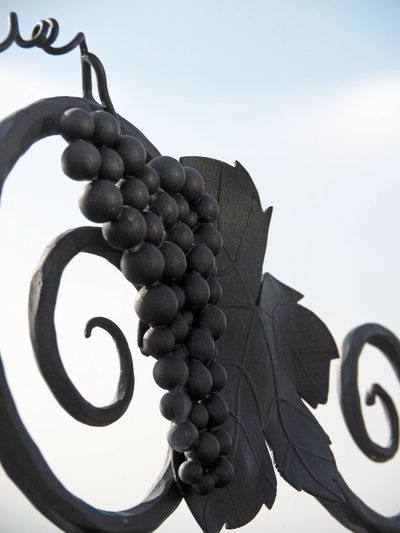 Clear Sky Grape Grapes Low Angle View No People Outdoors Sculpture Sky Vineyard Wine Wine Moments