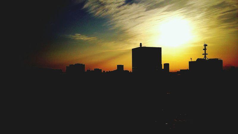 Buildings Sunsetporn