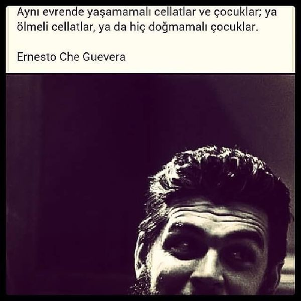 #eyemturkey #EyeEm #cheguevara #doğrusöz Mid Adult One Man Only Close-up Indoors  One Person Only Men Human Body Part