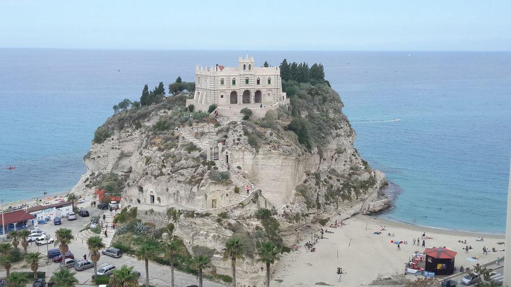 Sky Sea Tranquility Landscape Architecture Promontorio Santuario Santa Maria Tropea Calabria