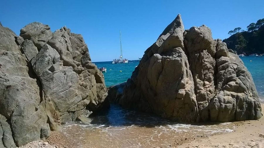 Tossa del Mar, Gerona, Catalunya Desertbeach