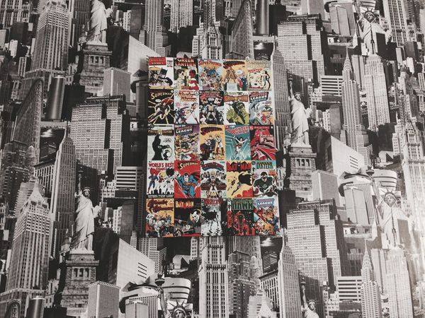 Marvel DC Poster Wall Aestethic Nopeople City Wallpaper