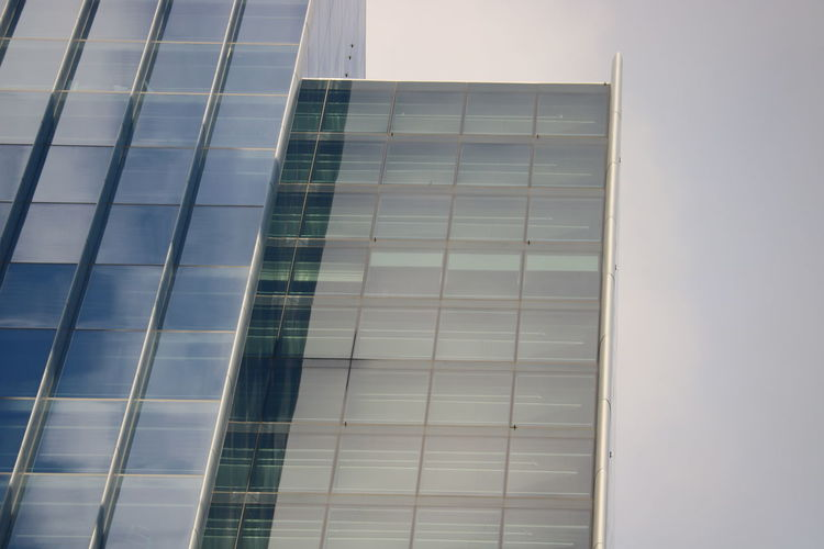 Architecture Building Exterior City Day Low Angle View No People Office Block Outdoors Reflection Sky Skyscraper Minimalist Architecture