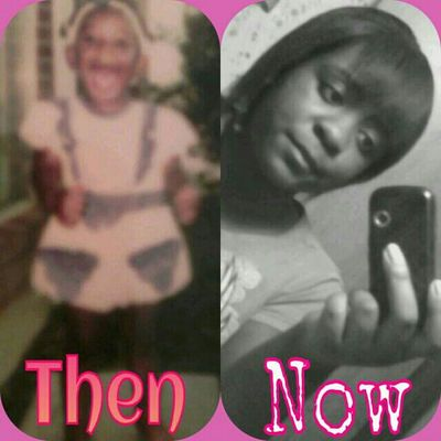 Cute then & nw ! (: