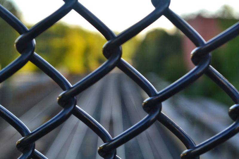 Fences Trainyard Traintracks Blurred Visions