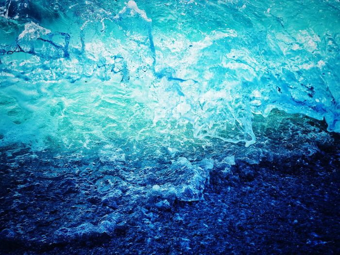 Wave 2 Backgrounds Blue Water Full Frame High Angle View Abstract Pattern Day Textured  No People Nature Close-up Outdoors