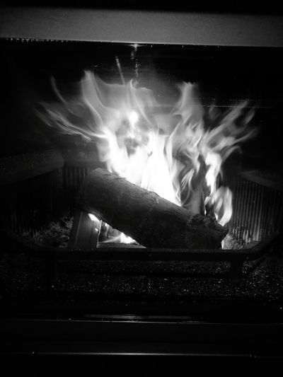 Flame Heat - Temperature Illuminated Night Belgium